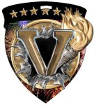 Victory Medal Color Shield Medal Awards